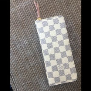Authentic Louis Vuitton Azur Clemence Wallet